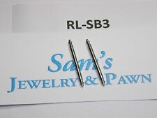 2 Swiss Spring Bar for 20mm Rolex Datejust II 116334 116333 16013 16233  #RL-SB3