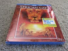 Disneynature: African Cats (Blu-ray/DVD, 2011, 2-Disc Set) New and Sealed