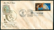 1961 Honoring The Manila Postal Conference First Day Cover B