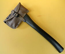 U.S. MODEL M-1910 HAND AXE WITH MATCHING CANVAS SHEATH
