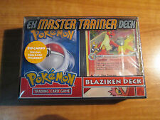 Sealed COMPLETE Promo BLAZIKEN DECK Pokemon Card EX MASTER TRAINER Set Holo TCG