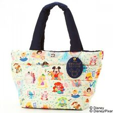 Disney Mickey Stitch Princess Mini Tote Bag Handbag Purse ROOTOTE Japan K2509