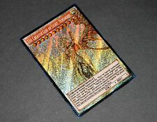 The Creator God of Light, Horakhty ORICA, SECRET RARE YUGIOH, ART, proxy