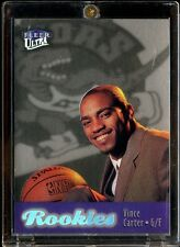 1998-99 Fleer Ultra Platinum Medallion Vince Carter Rookie RC 10/66 Raptors