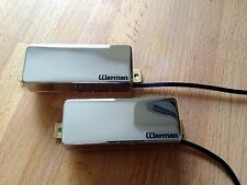 Warman FireBucker - Pair of poleless Chrome mini humbuckers