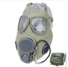 "ZOMBIE GEAR GAS MASK M10M ""UNISSUED""  COMPLETE w/ DRINKING TUBE, FILTERS"