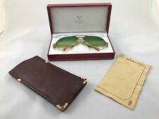 Vintage Cartier Vendome Santos Eyeglasses Sunglasses 1980s 007 Style Very rare