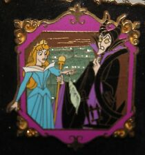 Disney Japan M&P Sleeping Beauty Maleficent and Aurora LE 1000 Pin 33280