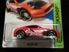 HW HOT WHEELS 2014 HW WORKSHOP #249/250 NISSAN 370Z HOTWHEELS RED