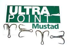 100 Mustad KVD-Elite Triple-Grip 1X Treble Hooks (Size 6) TG78NP-BN UltraPoint