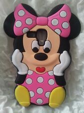 Silicone Cover per cellulari MINNIE3 PINK para SAMSUNG GALAXY S3 MINI