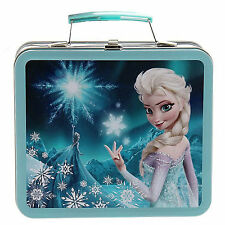 Loungefly Disney Frozen Elsa Blue Magic Metal Lunch Box NEW Loungefly Carrier