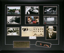 Al Capone Reproduction Signature Frame