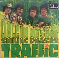 "7"" DAS ORIGINAL 1967 MONO ! TRAFFIC : Hole In My Shoe"