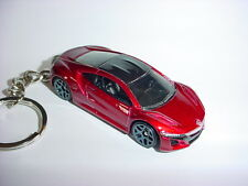 NEW 3D RED 2017 ACURA NSX CUSTOM KEYCHAIN keyring key racing finish BACKPACK HOT