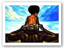AFRICAN AMERICAN ART PRINT The Future Kevin Williams WAK 5x7
