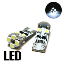2x VW Golf MK6 1.4 Xenon White 8SMD LED Canbus No Error Free Number Plate Bulbs