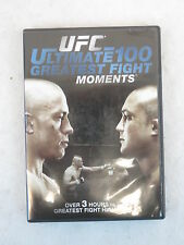 UFC  ULTIMATE 100 GREATEST FIGHT MOMENTS 1 DVD Anchor Bay 2009
