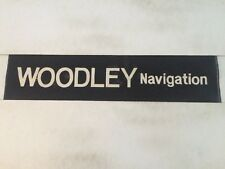 "Manchester Linen Bus Blind 1977-47 30""- Woodley Navigation"