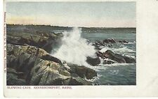 Early 1900's Kennebunkport Maine Blowing Cave Ocean Avenue GW Morris Portland