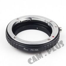 Camera Macro Adapter For Pentax K PK Lens To Nikon D3200 D7100 D5300 D800 D750