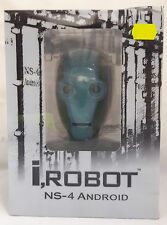 POP BOX COLLECTIBLES I ROBOT 1:2 SCALE NS-4 ANDROID BLUE GREEN HEAD NEW