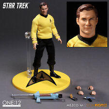 ONE:12 COLLECTIVE STAR TREK JAMES T KIRK 1:12 Scale Action Figure MEZCO