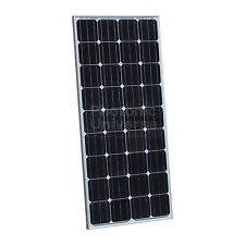 150W PV solar panel 5m cable for 12V battery camper caravan boat yacht 150 watt