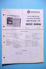 Service Manual-Istruzioni per Hitachi trk-1220, ORIGINALE