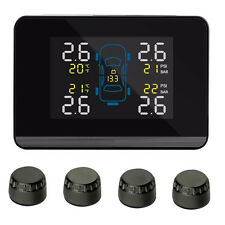 CAREUD Auto Car TPMS Tyre Pressure Monitoring System With 4 External Sensor Top