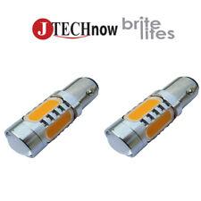 2x 1156 BA15S 13W High Power Yellow LED Car Signal light Bulb