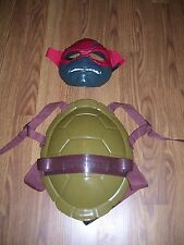 RAPHAEL TEENAGE MUTANT NINJA TURTLES HARD SHELL DELUXE HARD MASK COSTUME