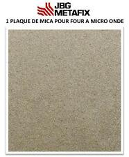 1  plaque de Mica pour four à Micro-Onde 400 X 400mm- France Haute performance