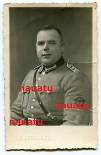 Foto Portrait dicker Polizei Mann aus Hagen im Getto Płońsk Polen