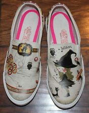 New Goby Womens Size 7.5/38 Halloween Witch Slip-on Shoes