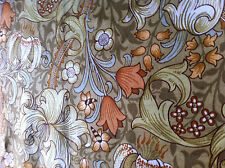 """SANDERSON """"golden lilly""""vintage fabric 1970S ,from william morris collection"""