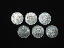 SET OF 6 COINS - 500 COMMEMORATIVES GREEK DRACHMAS OLYMPIC GAMES ATHENS 2004