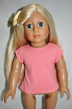 """American Girl Doll Our Generation Journey Gotz 18"""" Dolls Clothes Pink T-Shirt"""
