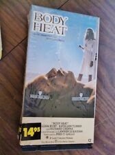 Very Good BODY HEAT, 1991 VHS, Viewed Only Once, Kathleen Turner, William Hurt