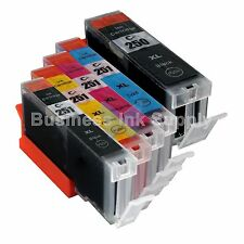 5+ PK PGI-250 CLI-251 Ink Tank for Canon Printer Pixma MX722 MX922 MG5420 1PGI
