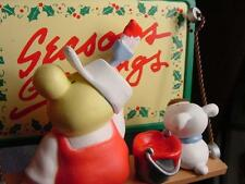 ZIGGY & FUZZ Billboard Painters THE FINISHING TOUCHES ENESCO CHRISTMAS ORNAMENT