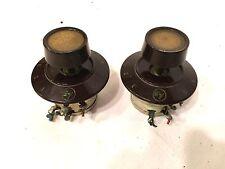 Vintage Electro Voice Speaker Attenuators 5635 Pair Complete Aristocrat #1