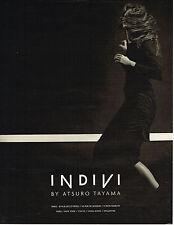 PUBLICITE ADVERTISING 094  1998  ATSURO TAYAMA   haute couture INDIVI