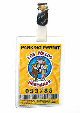 Breaking Bad Parking ID Badge Los Pollos Hermanos Cosplay Prop Costume Comic Con