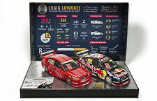 1:18 888 VF Commodore #888 Red Bull Craig Lowndes 100 Race Wins Twin set