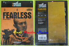 DVD film FEARLESS Bruce Lee cinema arti marziali 5 SIGILLATO SEALED no vhs(D5)