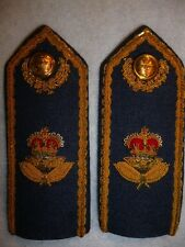 Pair of Royal Canadian Air Force / RCAF Officer's Shoulder Boards - Canada
