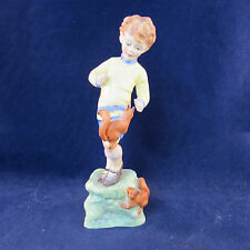 F G Doughty Royal Worcester OCTOBER Figurine