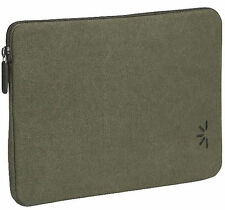 NEW Pair of 2 Case Logic Dark Green Canvas Durable Cover for tablet Kindle eBook
