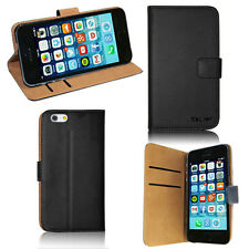 IPhone 6 Case PU Leather Case Wallet Cover (4.7 Inch) - Black